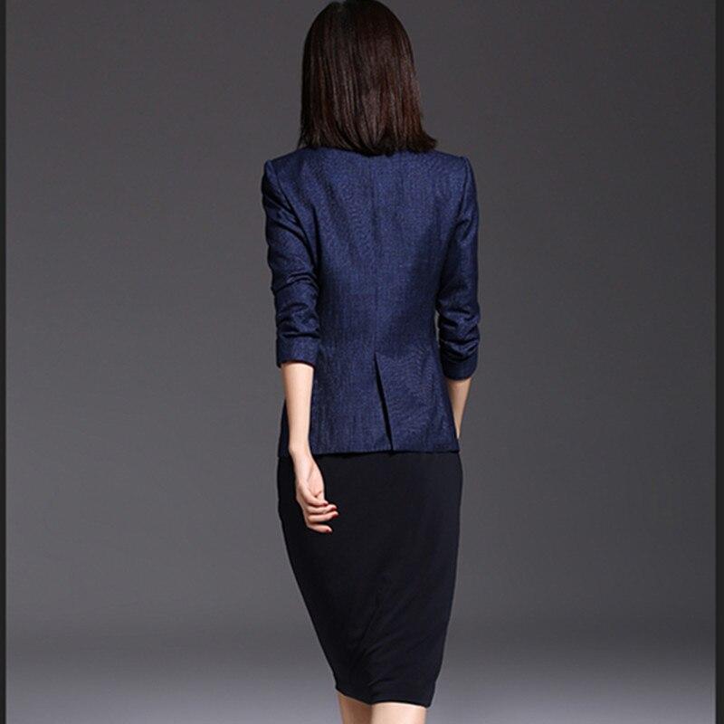Blazer Mujer Fashion Spring Female Coats Femme Long Sleeves Single Button Slim Women Blazers And Jackets CJ019