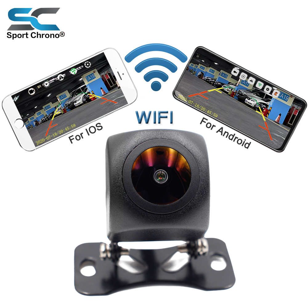 Upgrade Mini Wifi HD Car Rear View Camera Night Vision Vehicle Reverse Camera Waterproof Wireless For IOS and Android