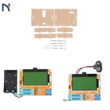 цена на esr-t4 mega328 Ddigital Transistor Tester Diode Triode Capacitance lcr-t4 esr Meter MOS/PNP/NPN LCR 12864 9V LCD Screen