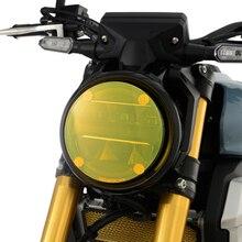 Motocicleta farol proteção capa escudo lente da tela para honda cb125r cb150r cb250r cb 250 300 125 r cb 300r 250r