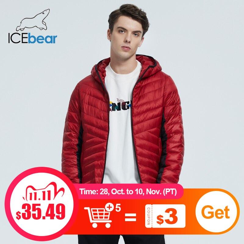 ICEbear 2020 осень/зима новые продукты мужские куртки высокое качество мужское короткое пальто модная мужская одежда MWD20863D|Парки| | АлиЭкспресс