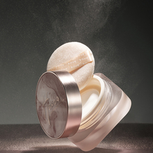 HEXZE Loose Powder Makeup Silky Setting Powders Matte Finish Long Wear Oil Absorbing Smoothing Facial Waterproof