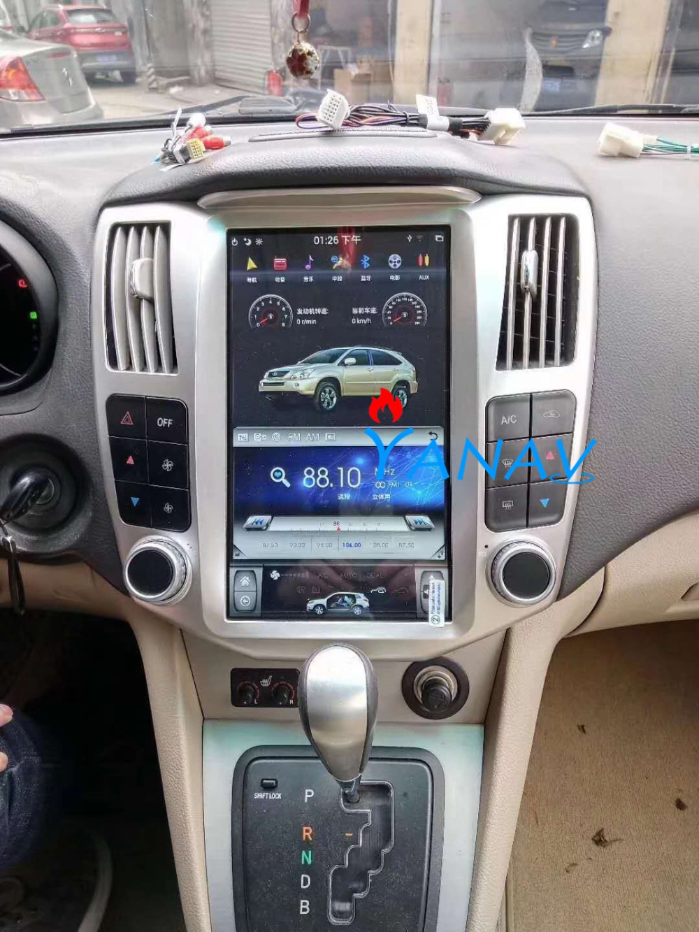 4+64GB <font><b>Android</b></font> Car GPS Navigation For-<font><b>LEXUS</b></font> RX300/330/350/400h 2004-2008 Car radio player Auto stereo head unit Car Dvd Player image