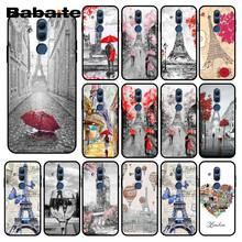 Babaite Paris London Menara Eiffel New York Musim Gugur Maple Phonecase untuk HUAWEI Mate 10 20 Lite 20X Mate20 10 Pro mate9 Nova3 3i(China)