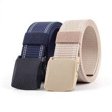 New Student Canvas Belt Boys Outdoor Leisure Belt Girls Trend Decoration Jeans Belt For