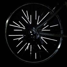 Rim-Spoke Reflective-Strip-Tube Bike Bicycle Wheel Riding Outdoor 12PCS Night-Lighting-Tube