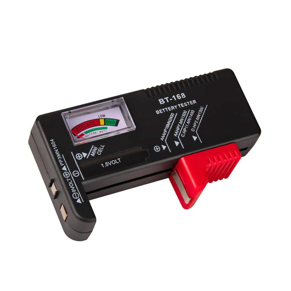 Pointer Batterij Capaciteit Tester Lading Indicator Voltage Meter Gereedschap Batterij Capaciteit Digitale Batterij Tester Volt Checker