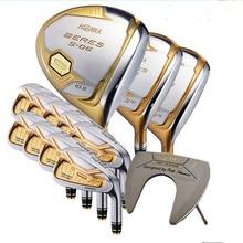 HONMA Golf kulüpleri komple Set Honma erkek Bere S 06 4 yıldızlı Golf kulübü setleri sürücü + Fairway + Golf demir + atıcı/14 adet (Golf çantası)