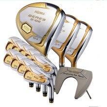 Хонма клюшек для гольфа полный набор Хонма Для Мужчинs Bere S 06 4 звезды наборы гольф клуба драйвер + фарватера + клюшек для гольфа + клюшка/14 шт. (без сумка для гольфа)