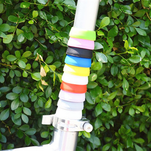 MTB Mountain Road Bicycle Seatpost Cover Silicone Waterproof Protector Seat Post Tube Rubber Ring Dust Cover Cycling Parts