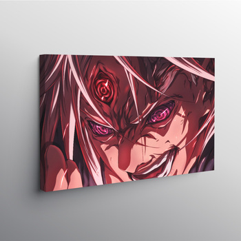 MUGEN TSUKUYOMI Naruto Anime Poster Framed Canvas Wall Art Decoration prints Dorm room Home bedroom decor Wooden Frame Painting image