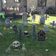 Украшение на Хэллоуин череп скелет ужас дом с привидениями декор