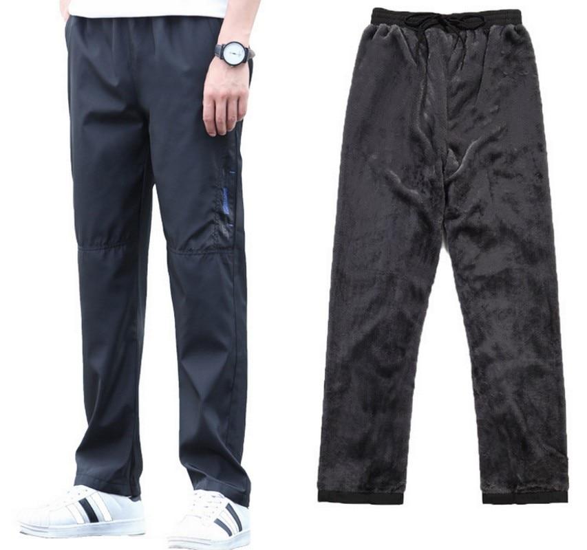 Hd019b4e385714df5bf595920b4f685daq Men's Super Warm Winter Pants Thick Wool Joggers Fleece Trousers Waterproof Sweatpants Windbreaker Cargo Pants Men 4XL 5XL 6XL