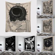 Настенный Гобелен Для Таро карт астрологическое гадания покрывало