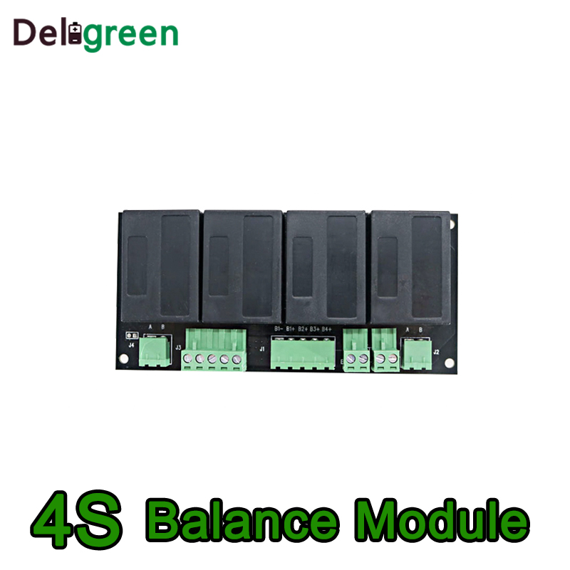 QNBBM 4S 12V Active Battery Equalizer Balancer BMS For LiFePO4,LiPO,LTO,NCM,LiMN 18650 DIY Battery Pack
