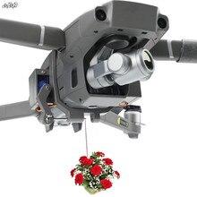 Zangão parabólico airdrop servo switch entrega de controle remoto com trem de pouso para dji mavic 2 pro & zoom zangão acessórios