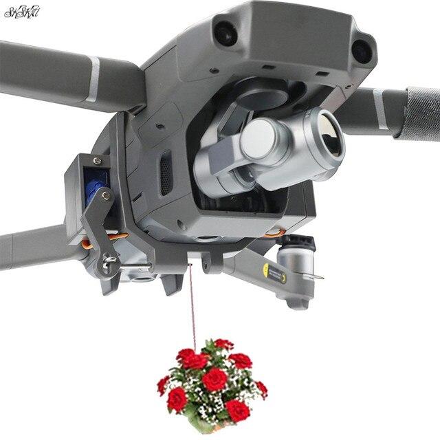 الطائرة بدون طيار مكافئ airdrop مضاعفات التبديل التحكم عن بعد التسليم مع الهبوط ل DJI mavic 2 برو وتكبير ملحقات طائرة بدون طيار