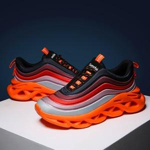 Image 5 - בן נעליים נמוכה נעלי תוספות צבעוני נעליים יומיומיות זכר פנאי Sneaker גברים ספורט נעלי Ligthweight גברים של אופנה נעלי ספורט