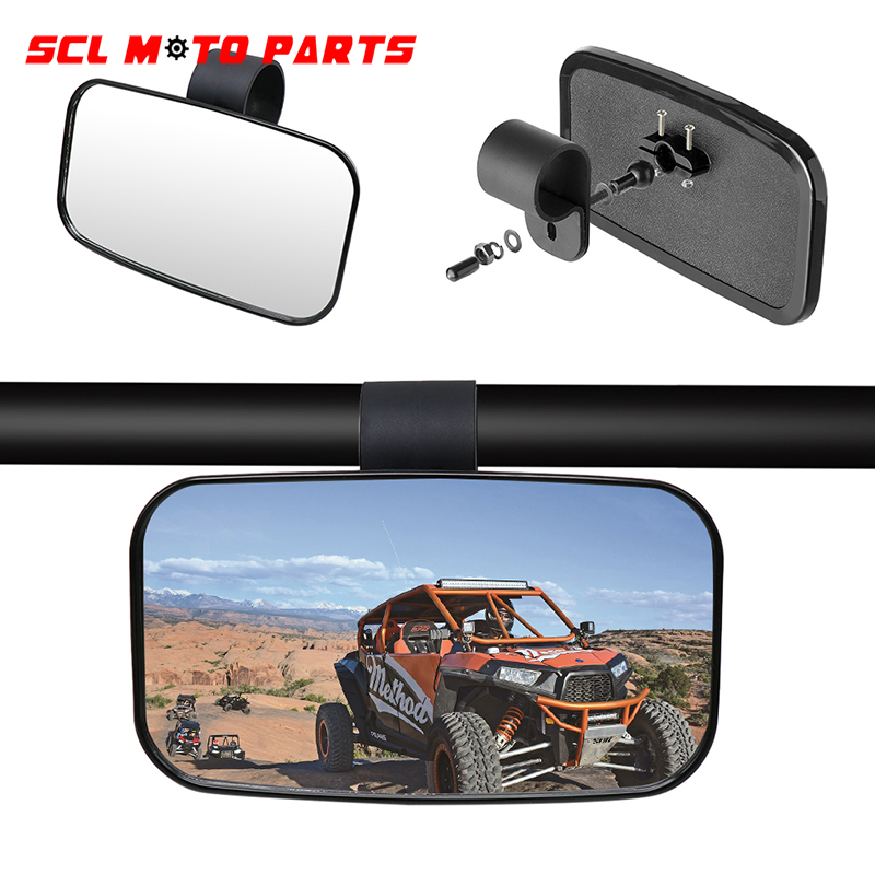 ALconstar-Racing Motorcycle Modified Rear View Mirror 1.5'' 1.75'' 2'' Off-road Vehicle Rear Mirror Set 1Pcs For UTV/ ATV