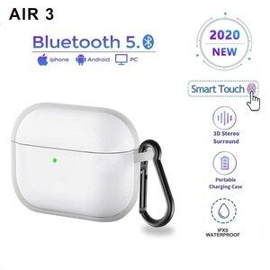 Newest Air 3 TWS Earphone Rename GPS Wireless Sport Earphones Bluetooth 5.0 PK I100 I200 I500 I900 I9000 Pro Smart Touch Headset