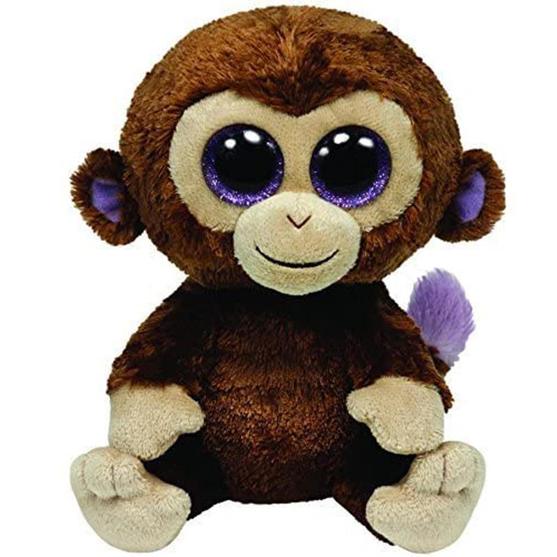 Ty Coconut The Monkey Plush Animal Toys Stuffed Doll Gift 15cm