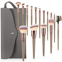 15/10/7Pcs Makeup Brushes Set Beauty Make Up Brush Tool Foundation Powder Eyelash Eyeshadow Eyebrow Liner Professional Brush Kit
