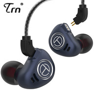NEW TRN V90 1DD 4BA Hybrid HIFI Bass Earbuds 10 Unit In Ear Earphones Metal Monitor Headset Noise Cancelling Earphone V80 ZSX X6