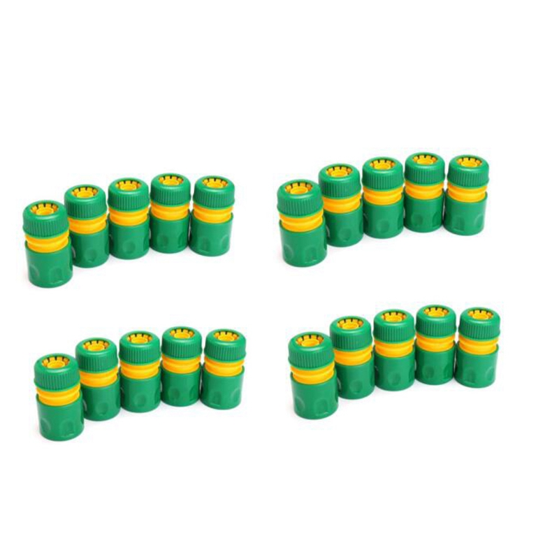 20 Piece Hose Garden Faucet Water Pipe <font><b>Connector</b></font> <font><b>Quick</b></font> Connect Adapter Accessories Watering <font><b>1/2</b></font> Inch image