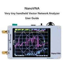 Портативный векторный сетевой анализатор 50 кГц-900 МГц цифровой сенсорный экран коротковолновый MF HF VHF UHF антенный анализатор стоящая волна
