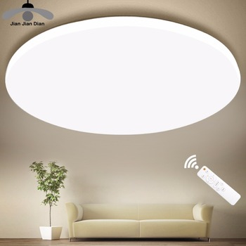 Ultra Thin LED Ceiling Lights Modern Lamp Living Room Bedroom Kitchen Lighting Fixture Surface Mount Remote Control 1  Home Hd01ad2b7988141d4bfd83b5989834084D