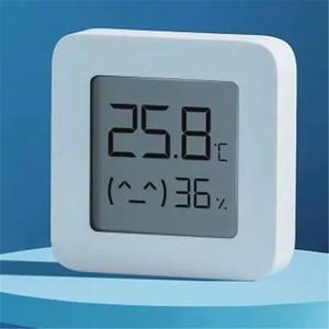 Image 2 - [Versão mais recente] xiaomi mijia bluetooth termômetro 2 sem fio inteligente elétrico digital higrômetro termômetro trabalhar com mijia app
