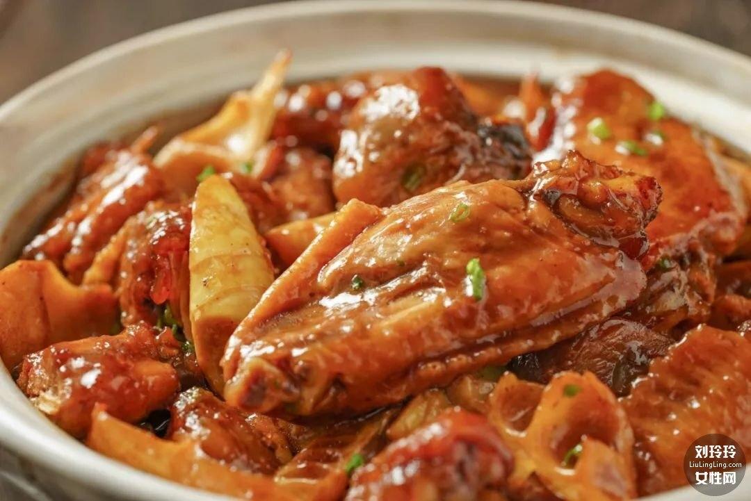 竹筍燜雞的做法大全家常 鮮竹筍燜雞肉10