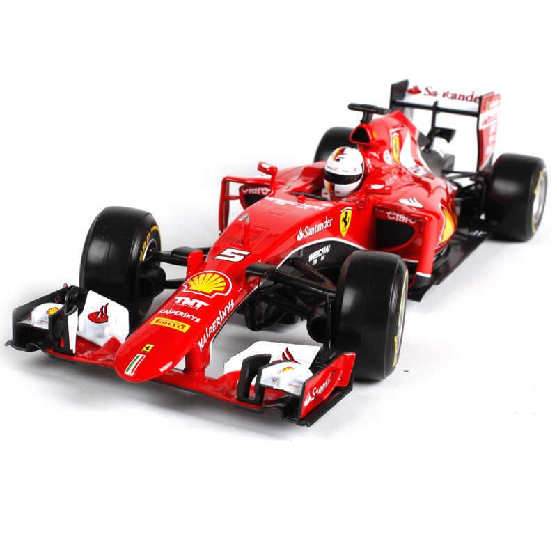 Bburago 1:18 فيراري F1 الصانع أذن محاكاة سبيكة سيارة نموذج الحرف الديكور جمع لعبة أدوات