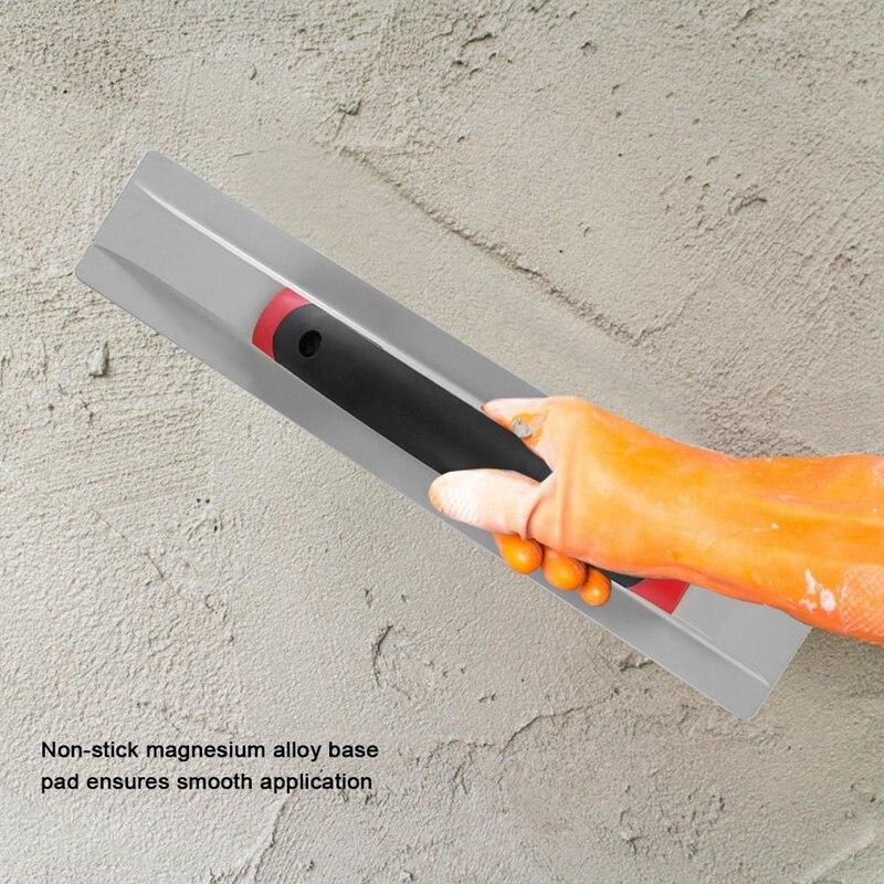 Llana de aleaci/ón de magnesio herramientas enlucido pisos baldosas flotador enlucido lechada paleta de llana baldosas