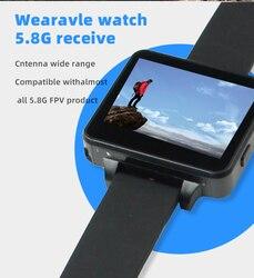 """Zegarek FPV 5.8G 48CH FPV poręczny zegarek HD 960*240 DVR 2 """"Monitor bezprzewodowy odbiornik OSD av in dla FPV RC Drone BOS200RC ulepszony w Części i akcesoria od Zabawki i hobby na"""