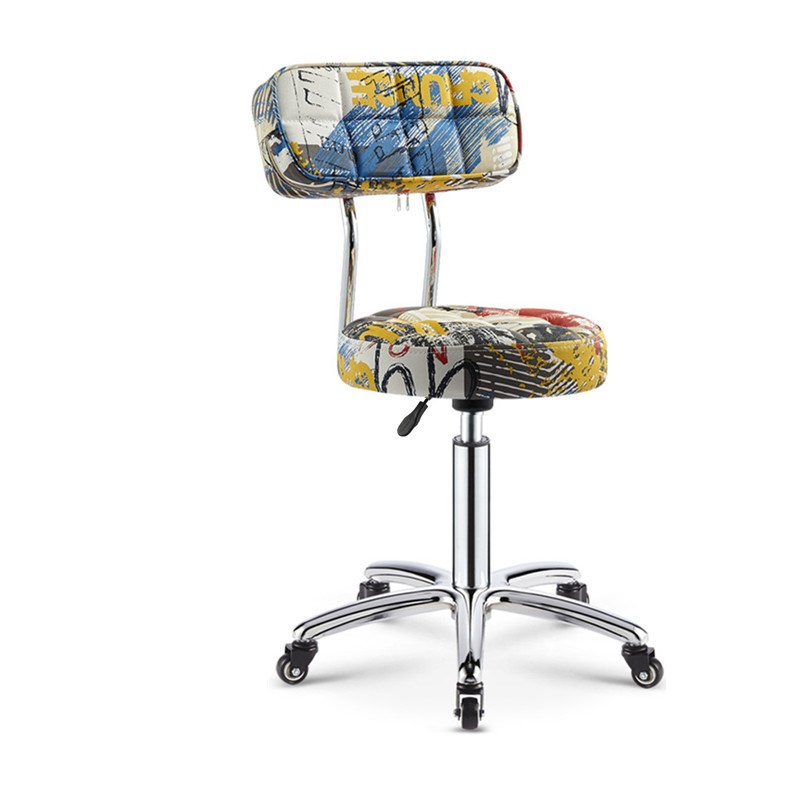 Computer Chair Simple Home Stool Lifting Swivel Chair Leisure Office Back Stool Student Dormitory Chair