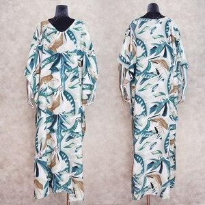 Image 5 - 2020  Quick drying Bohemian Women Summer Beach Dress Swim Wear Cover Up Tunic Sexy Deep Kaftan Beach Bikini Cover ups pareo Q930