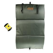 Складной раскладной коврик для защиты рыбы компактный легкий и рулетка Мягкая линейка снасти для рыбалки на карпа аксессуары