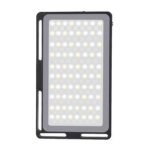 Image 3 - Manbily MFL 08 RGB LED Licht 2500 K 8500 K Lampe Dimmbare SZENE Studio Video Vlog Fotografie Beleuchtung für Youtube DSLR Kamera