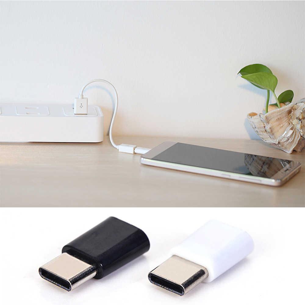 5/1 piezas Micro USB a tipo C cargador de teléfono móvil Adaptador convertidor USB adaptador conector para Huawei Xiaomi Samsung Galaxy