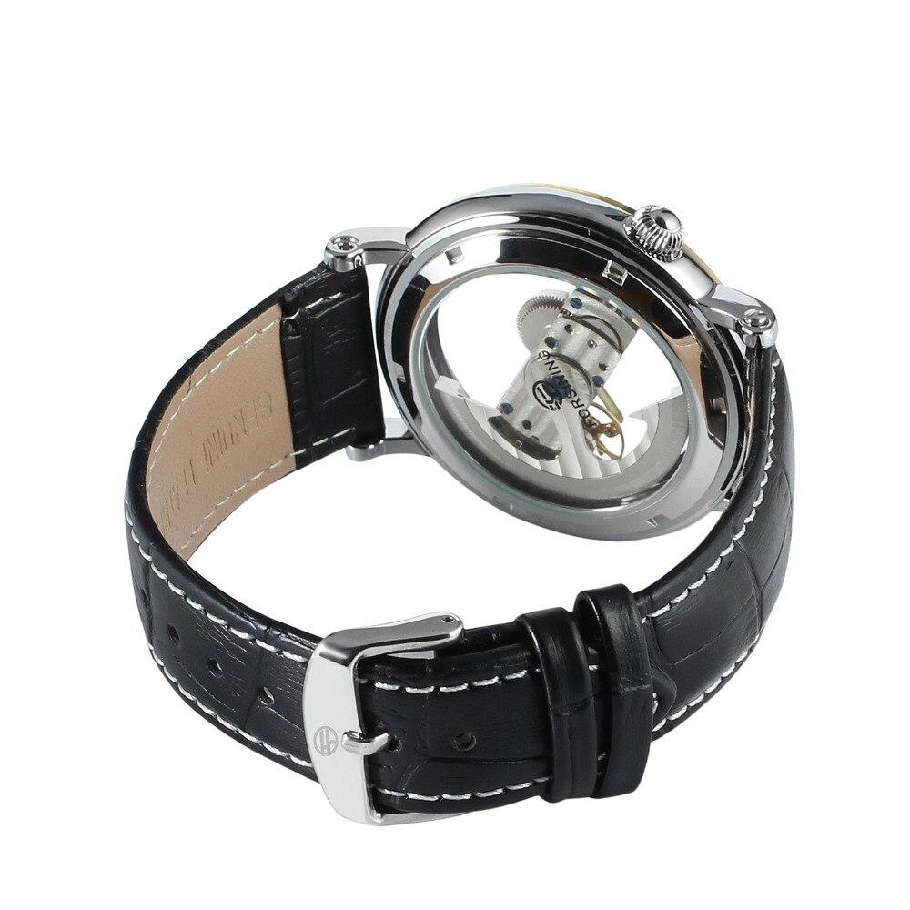 SKELETO transparent fashion wristwatch