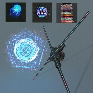 Astor 3D fan holographic projector advertising display hologram LED aerial imaging logo naked eye advertising machine