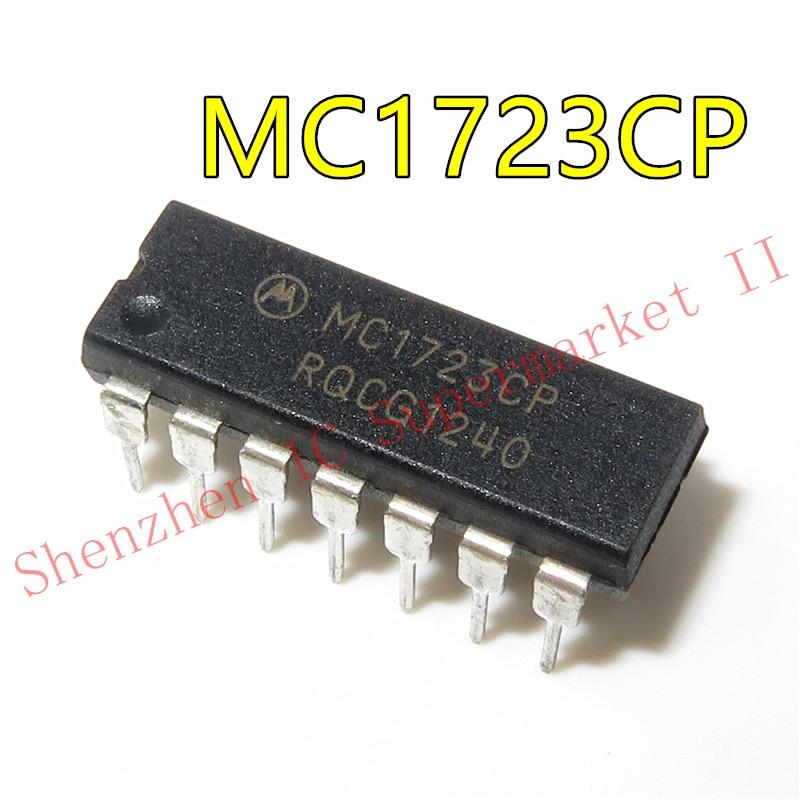 1pcs/lot MC1723CP MC1723 DIP-14 In Stock