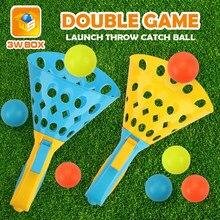 Captura jogar disco bola conjunto ping pong esportes ao ar livre jogo lançamento saltando fidget brinquedos globbles brinquedo de basquete capturar a bola