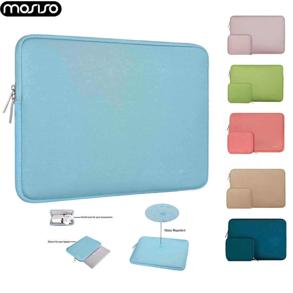 Mosiso Laptop Fashion Lengan Tas 11 12 13 13.3 14 15 Inci untuk Macbook Air/Pro/Retina/ dell/Acer/Lenovo Notebook Pouch Case 2019