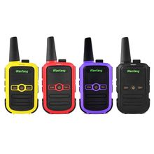 Walkie-talkie professional mini color ultra-thin ultra-small USB direct charging X6HA