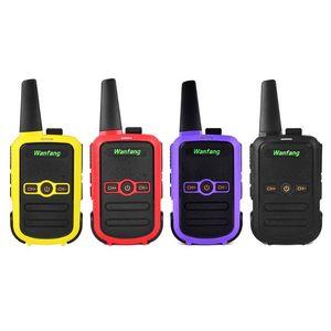 Image 1 - Walkie talkie professional mini color ultra thin ultra small USB direct charging X6HA