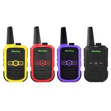 Walkie talkie profesyonel mini renkli ultra ince ultra küçük USB doğrudan şarj X6HA