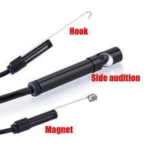 5 м 7 мм камера для осмотра труб USB эндоскоп видео канализационный сливной очиститель промышленный