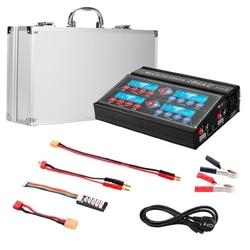 4B6AC 80W 6A Balance RC Charger Professional Multipurpose Discharger for LiPo LiHv LiFe Liion NiCD NiMH PB Battery EU Plug